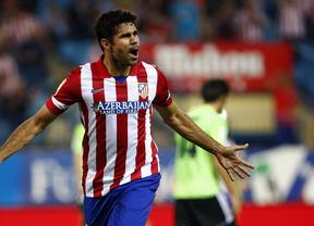 Diego Costa protagoniza la victoria atlética