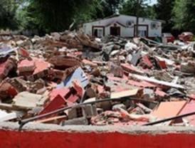 Derribadas varias construcciones ilegales en el poblado de Puerta de Hierro