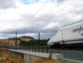Normalidad en la línea del AVE Madrid-Zaragoza-Barcelona