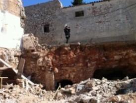 Fallece un hombre al derrumbarse una pared