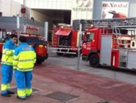 Incendio sin heridos en un centro comercial de Getafe