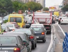 Casi dos millones de coches saldrán de Madrid