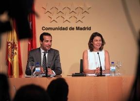rueda prensa tras Consejo Regional CAMde Salvador Victoria y Lucía Figar