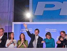 El PP logra la mayoría absoluta y el PSOE pierde 4,4 millones de votos