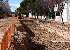 La avenida de la Libertad de Getafe, en verano