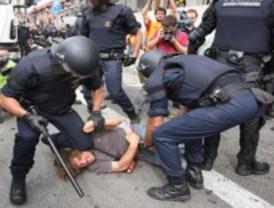 La protesta contra la reforma laboral termina con nueve detenidos