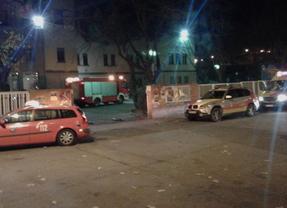 Bomberos Madrid rescatan a la víctima en parada cardiorrespiratoria