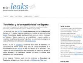 Mini-leaks, la web de la