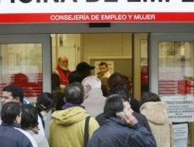 El paro subió en 13.523 personas en enero en Madrid, un 2,99 por ciento