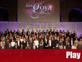 Los nominados a los Goya, de fiesta