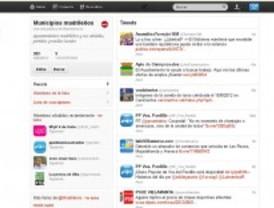 Los municipios madrileños, al segundo por Twitter