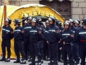 Un camión choca en el túnel de María de Molina