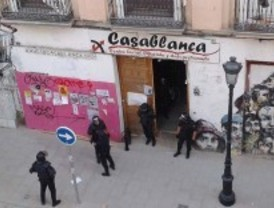 La Policía desaloja por segunda vez el antiguo centro social 'okupado' Casablanca