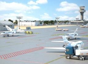 El aeródromo de El Álamo resucita por Eurovegas