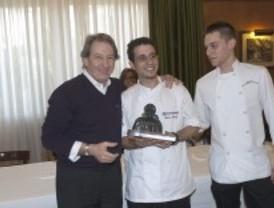 Cordero y salmón en la cocina de Mario Moñivas