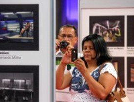 La fotografía 'Ajetreo bajo tierra' gana el concurso 'Metro desde tu móvil'