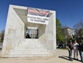 Recogen más de 1.300 firmas para condenar la 'profanación' de Somosaguas