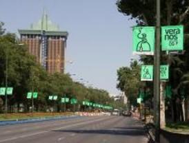 Un estudio asegura que Madrid está entre las más verdes de Europa pese a la contaminación