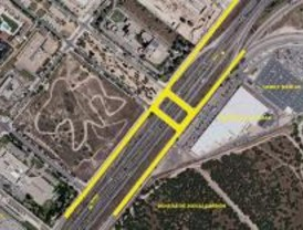 Fomento cede a Las Rozas las vías de servicio de la M-50