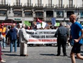 Los jubilados también protestan en Sol