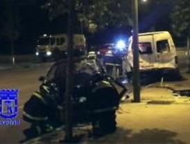 Noche negra: un muerto y tres heridos en accidentes