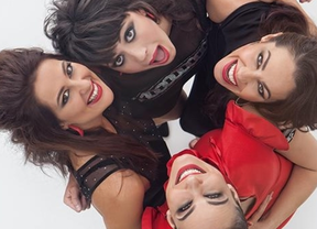 Señoritas on Fire hacen el paseíllo para sacudir con sus canciones al Ateneo