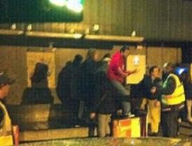 Protestas en Barajas por retraso en la entrega de equipajes
