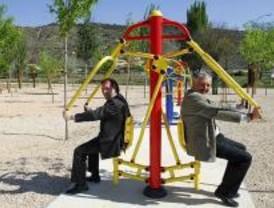 Tielmes estrena dos parques biosaludables
