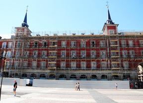 Plaza Mayor, obras Carniceria