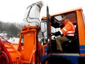 GPS para controlar las carreteras de Madrid en invierno