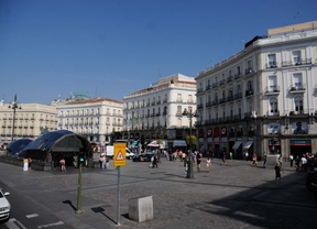 La Puerta del Sol, un cine al aire libre
