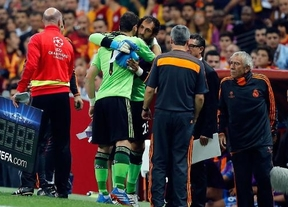 Iker Casillas se lesiona en el primer encuentro de 'Champions'