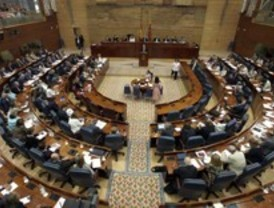 Arranca el pleno de presupuestos en la Asamblea de Madrid