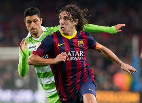 El FC Barcelona consigue la victoria sobre el Getafe