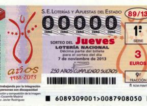 La lotería Nacional rinde homenaje a los 25 años de FAMMA