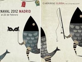 Halle las siete diferencias del Carnaval Madrid y Lleida