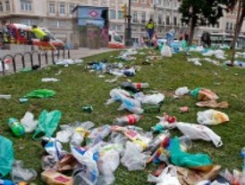 Las fiestas del Orgullo Gay generan 172.000 kilos de basura