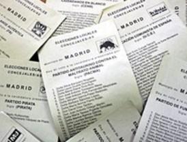 Los partidos minoritarios se quedan fuera de la Asamblea y ganan en 13 de los 179 municipios