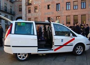 Los 'eurotaxis' vuelven a prestar servicio con normalidad