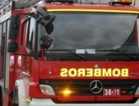 Dos niños, intoxicados graves en el incendio de su vivienda en Toledo