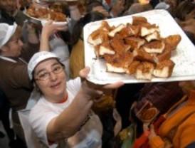 450.000 kilos de torrijas para las fiestas