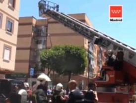 Muere una anciana de 80 años en un incendio en su casa de Getafe