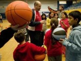 Niños de Alcobbendas participan en el Día Multideportivo para la Integración