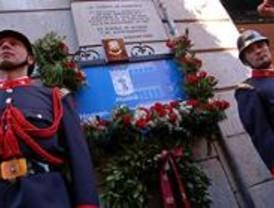 Homenaje a los fallecidos en el incendio de los Almacenes Arias