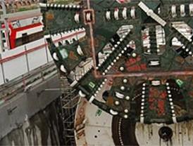 La tuneladora del AVE ya está en Chamartín