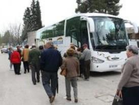Arrancan los viajes para mayores del programa de Rutas culturales de la Comunidad