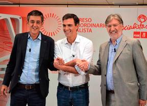 Los candidatos del PSOE prometen primarias abiertas en noviembre