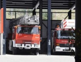 Plañiol planta cara a los bomberos con las 37,5 horas