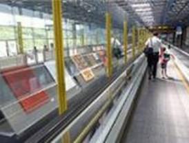 El Aeropuerto de Madrid - Barajas inaugura una exposición sobre Elisa González