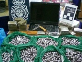 Detenidos dos hermanos que guardaban 13 kilos de hachís en dos pisos de San Blas